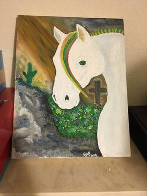 Custom artwork ready to hang for Sale in Willard, NM