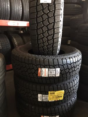 BAND NEW 265/70/17 IN STOCK AND READY TO INSTALL for Sale in Hayward, CA