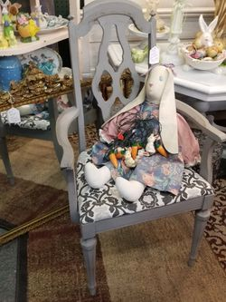 Grey Chair 38.00 for Sale in Clovis,  CA