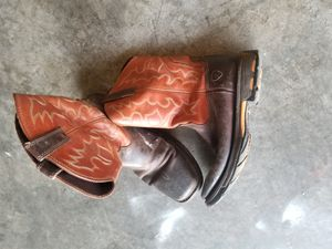 Mens WorkHog Wide Square Toe Work Boot 11.5 for Sale in Raytown, MO