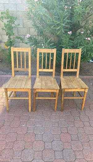 Old Farm chairs from 1890 for Sale in Phoenix, AZ