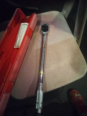 Pittsburgh torque wrench for Sale in Columbus, OH