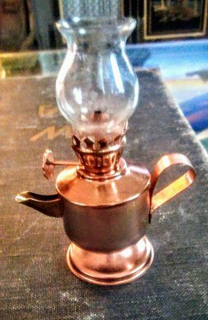 Tiny Copper Oil Lamp for Sale in Spokane, WA