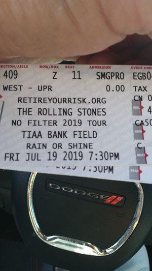 2 Rolling Stones tickets for Sale in Brandon, FL