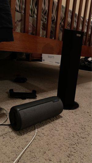 Ue Bluetooth speaker , sound blaster axx Bluetooth speaker $300 both for Sale in Houston, TX