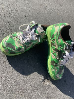 Nike Air Force bape shoe size 9 for Sale in Fremont, CA