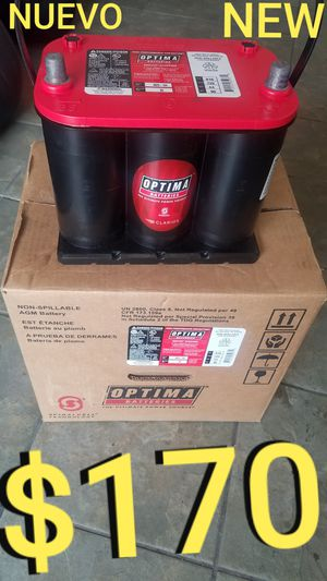 Optima battery NEW for Sale in Los Angeles, CA