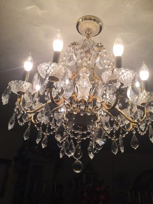 Crystal Chandeliers, perfect condition for Sale in Phoenix, AZ