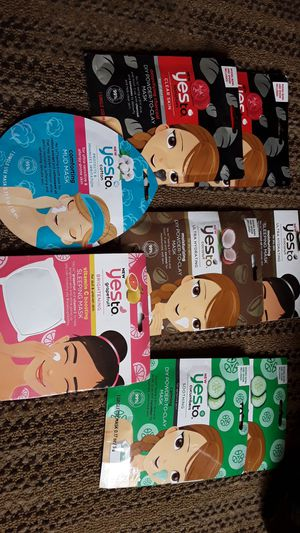 8 Face cleaning masks $1.00 for each one never been used pick up only for Sale in Scottsdale, AZ