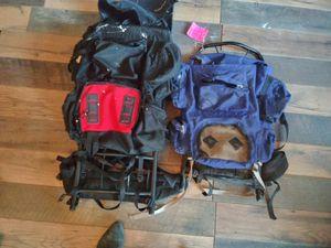 2 hiking backpacks for Sale in Reynoldsburg, OH