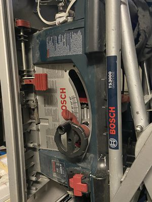Bosch table saw with stand for Sale in Gresham, OR
