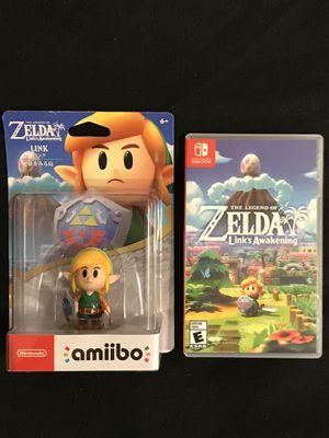 The Legend of Zelda Link's Awakening with Amiibo for Sale in Phoenix, AZ