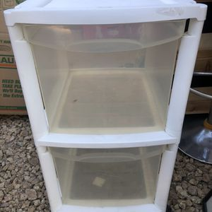 Rolling Plastic Drawer for Sale in Las Vegas, NV