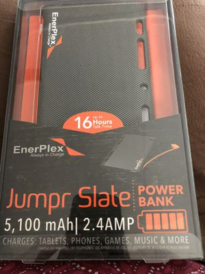 EnerPlex Jumper Slate power Bank Charger for Sale in San Dimas, CA