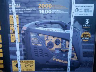 Firman 1600 Watt Whisper Series Generator for Sale in Vancouver,  WA