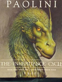 The Inheritance Cycle 4 Book Set for Sale in Denver,  CO