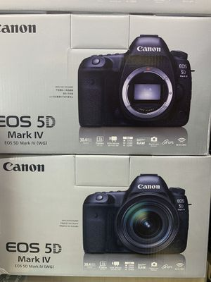 Canon EOS 5D mark IV full frame camera body for Sale in Corona, CA