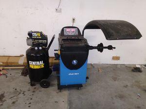 Tire balancer and air compressor for Sale in Riviera Beach, FL