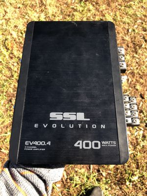 Amp SSL Evolution 4 Channel Amp for Sale in Stoneville, NC