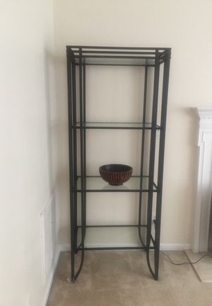 Wrought Iron Glass Wall Displays 7 feet tall for Sale in Apex, NC