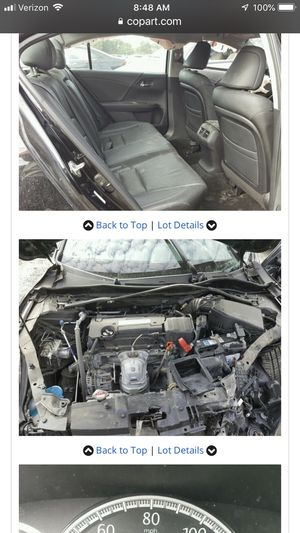 2014 Honda Accord Parts for Sale in Germantown, MD