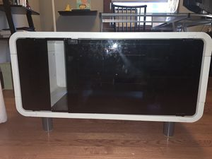 White TV/Game/Media Stand (Console) for Sale in Denver, CO