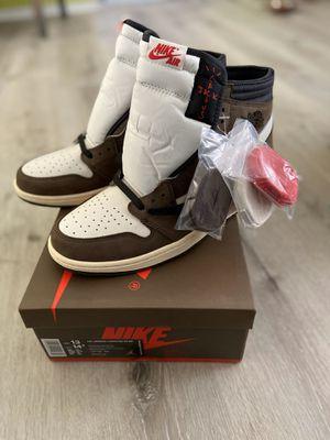 Nike Air Jordan Retro 1 Travis Scott High 'Mocha' size 13 $240 for Sale in Manhattan Beach, CA
