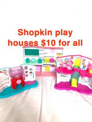 Shopkin play houses for Sale in Elk Grove, CA
