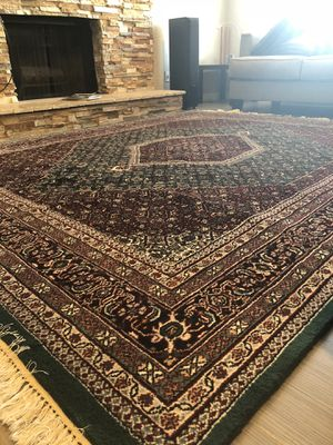 Bijar Rug Persian Design Handmade Hand Knotted Wool for Sale in Scottsdale, AZ