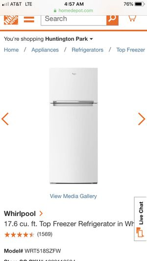 Whirlpool Refrigerator Used 1 Year for Sale in San Diego, CA