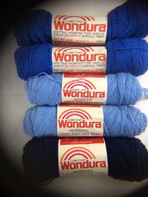 Lot of Clark's O.N.T. 4ply worsted 100% Creslan Acrylic Fiber Yarn for Sale in Sumner, WA