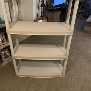 Plastic Storage Shelf $10 for Sale in Columbus, OH