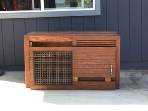 Custom made dog house with heater for Sale in Chula Vista, CA