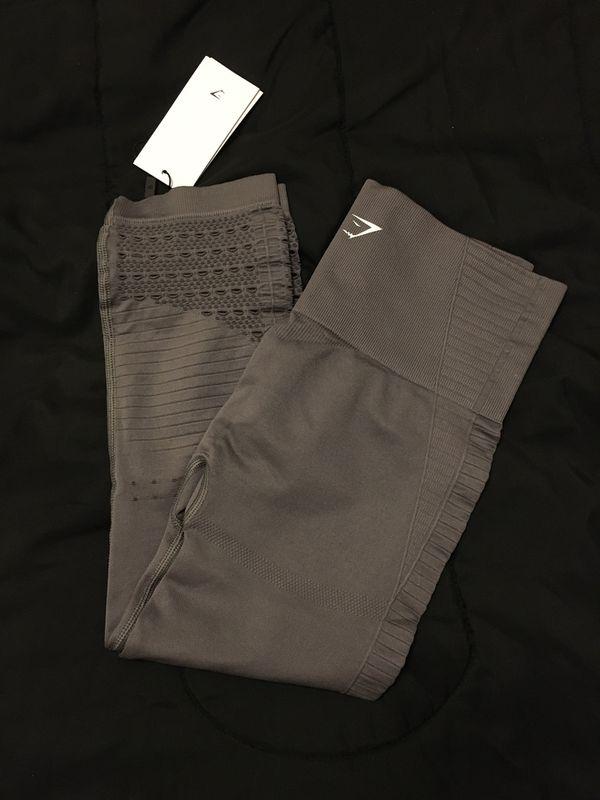 Gymshark seamless crop leggings size (SMALL)