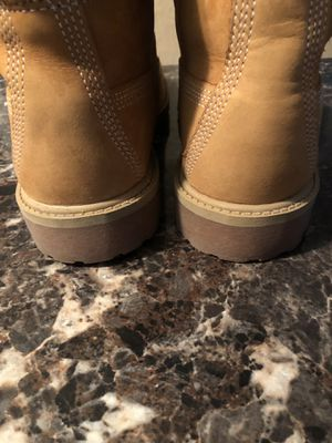 BACK TO SCHOOL SALE !!!Genuine leather Timberland boots. Size 6M for Sale in Norfolk, VA