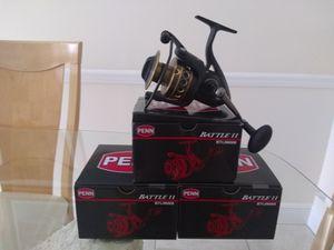 Penn Battle II 6000 Spinning Fishing Reel for Sale in Miami, FL