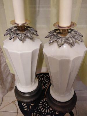 Bedside table lamps (AbatJours) for Sale in Oakland Park, FL