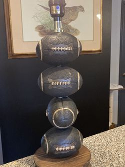 Vintage Football Lamp for Sale in Atco,  NJ