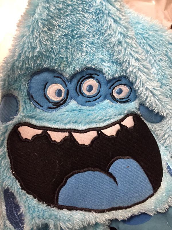 BIRTHDAY,PARTY ,DECORATING ,MONSTER FAMILY FUN! THEME CANDY HOLDER, PLUSH,PARTY FUN,