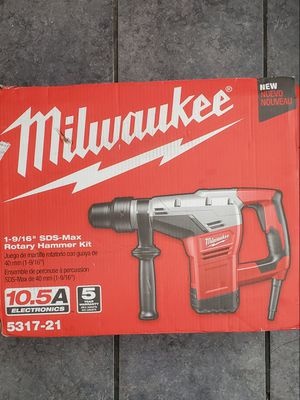 Milwaukee Rotomartillo 1-9/16 in. SDS Max Rotary Hammer for Sale in Cicero, IL