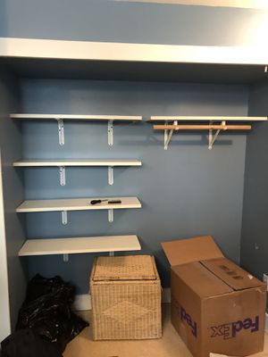 White shelves for wall for Sale in Seattle, WA