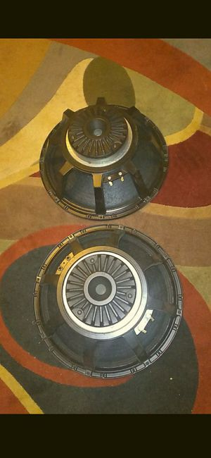 15 inch ev speakers for Sale in Naugatuck, CT