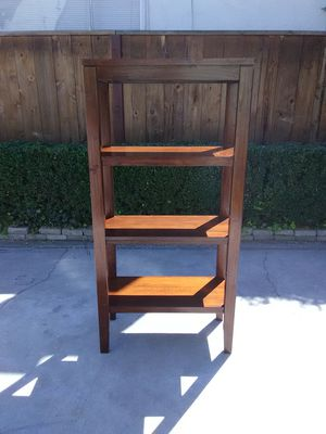 Nice Brown Wooden shelf for Sale in Fresno, CA