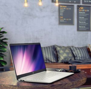 Brand new!!! HP 15 laptop 10th gen. intel i3 4gb ram 128ssd natural silver 1year HP warranty for Sale in Alexandria, VA