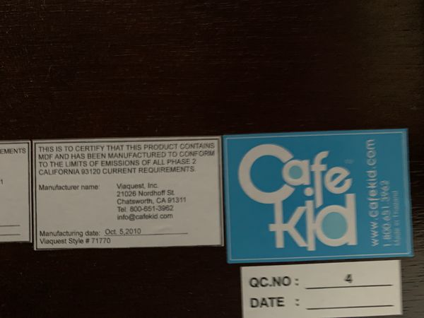 Cafekid furniture