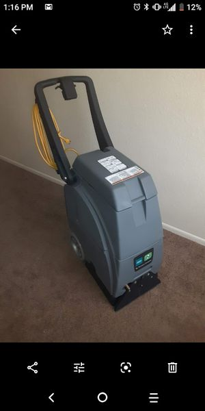 Very nice carpet cleaning machine used only a handful of times for Sale in Tucson, AZ