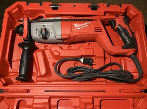 """MILWAUKEE 1"""" SDS PLUS ROTARTY HAMMER DRILL for Sale in Pomona, CA"""