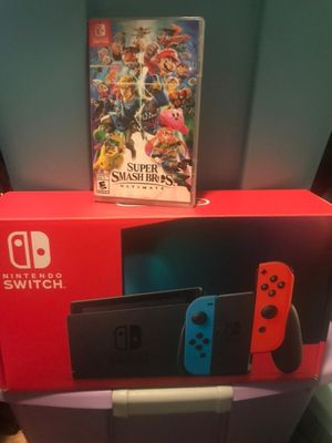Nintendo Switch V2 Super Smash Bro's for Sale in Lake Grove, OR