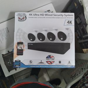 Night Owl 4k Ultra HD Wired Sevmcurity System for Sale in Elk Grove, CA