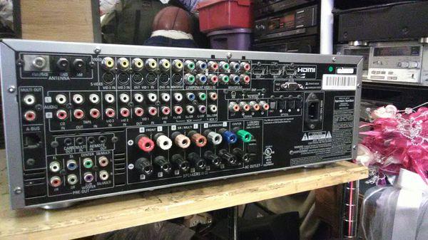 Harmon kardon 7.1 surround stereo hdmi 500 watts receiver hifi